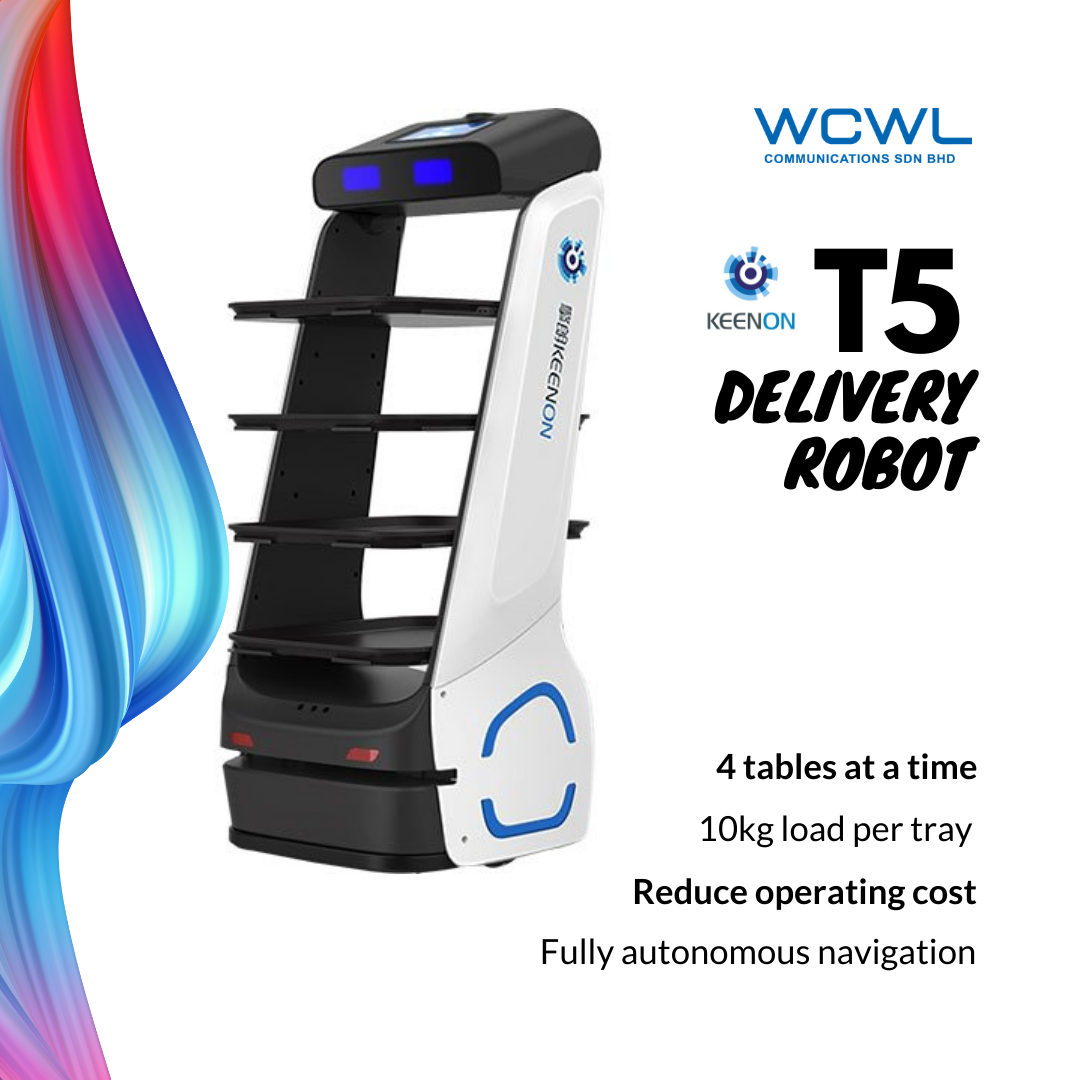 KEENON T5 DELIVERY ROBOT