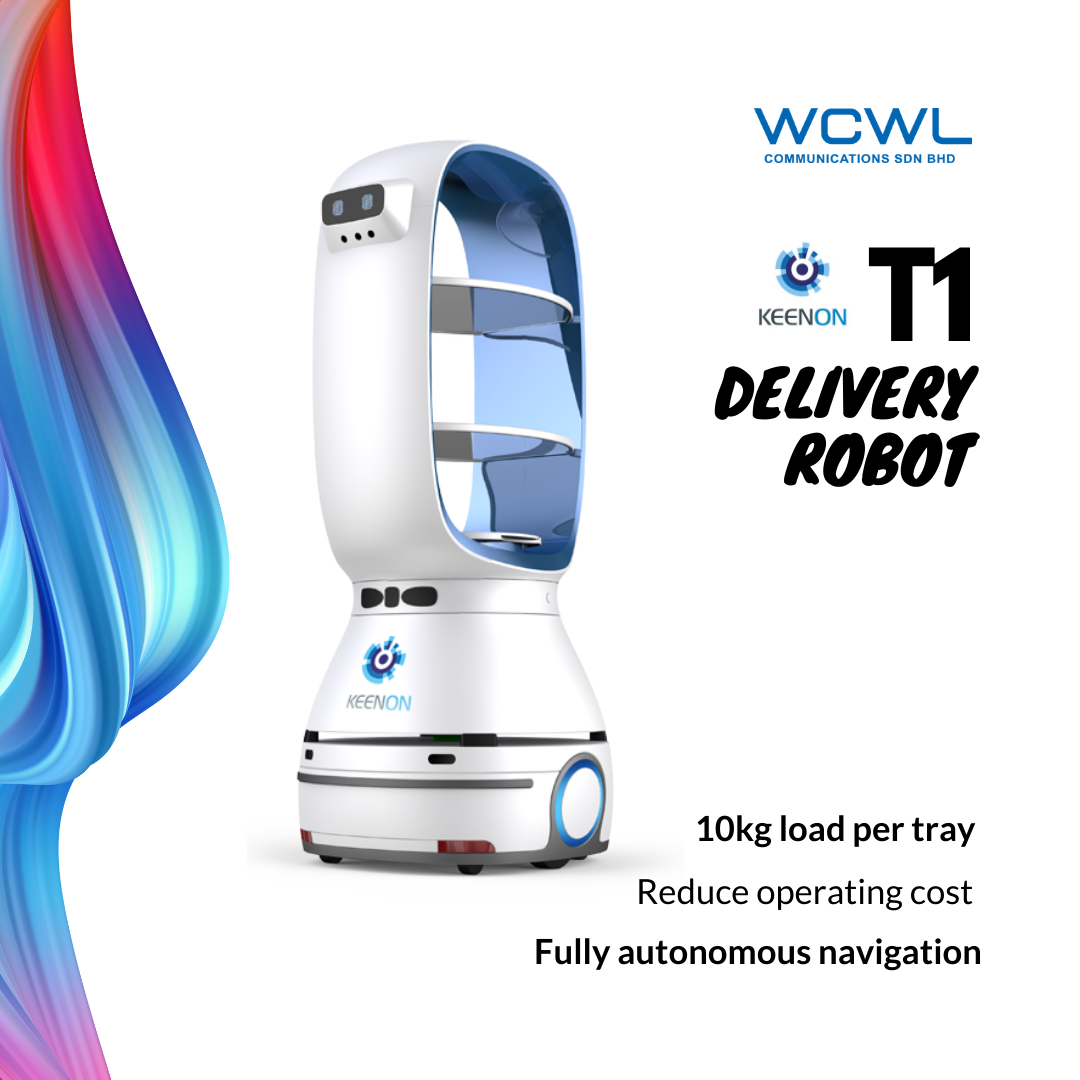 KEENON T1 DELIVERY ROBOT MALAYSIA