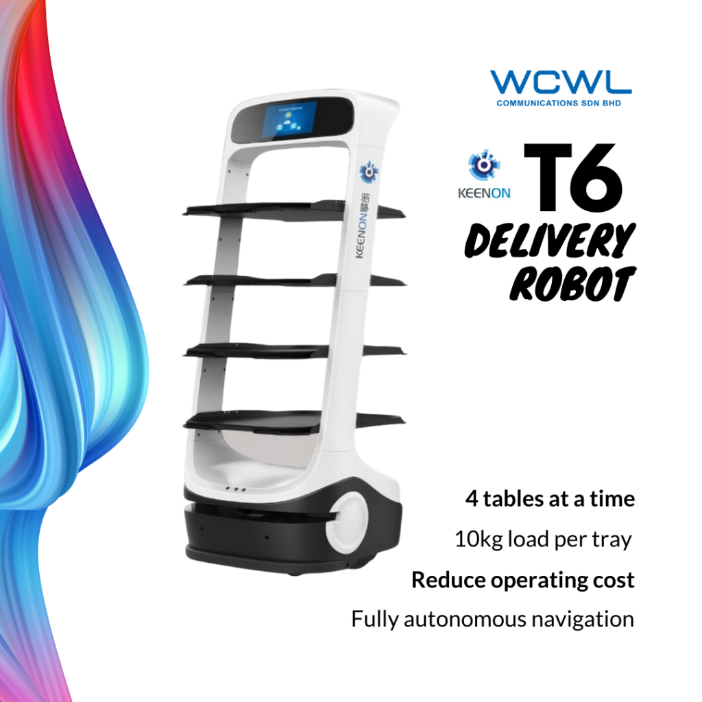 KEENON T6 DELIVERY ROBOT